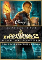 National Treasure 2: Book of Secrets DVD Cover Art