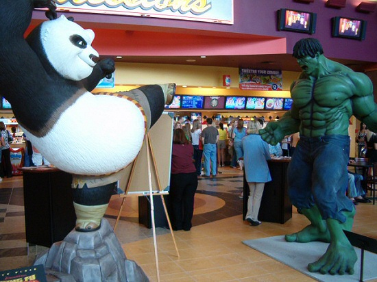 Kung Fu Panda vs. The Incredible Hulk