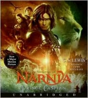Prince Caspian by C.S. Lewis CD Audiobook Cover Art
