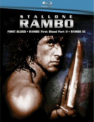Rambo 1-3 Box Set on Blu-Ray Cover Art