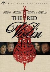 The Red Violin Meridian Collection DVD Cover Art