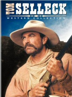 Tom Selleck Western Collection DVD Cover Art