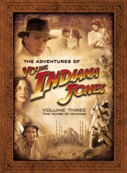 The Adventures of Young Indiana Jones Vol. 3: The Years of Change DVD Cover Art