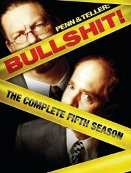Penn and Teller: Bullshit Season 5 DVD cover art