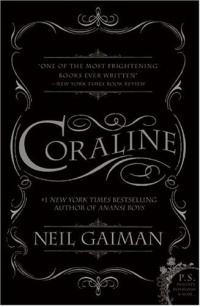 Coraline book cover art