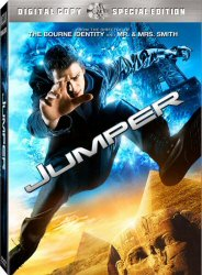 Jumper DVD Cover Art