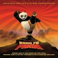 Kung Fu Panda Soundtrack CD Cover Art