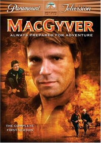MacGyver: The Complete First Season DVD cover art