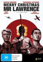 Merry Christmas Mr. Lawrence Region 0 DVD cover art