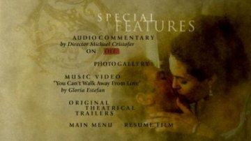 Original Sin special features menu