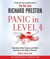 Panic in Level 4 by Richard Preston Audiobook Cover Art