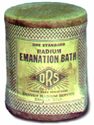 Radium Emanation Bath