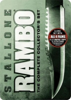 Rambo Complete Collector\'s Set DVD Cover Art