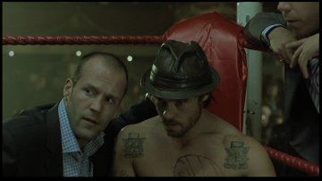 Jason Statham and Brad Pitt from Snatch