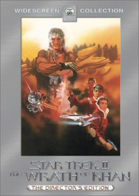 Star Trek II: The Wrath of Khan DVD cover art