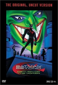 Batman Beyond: Return of the Joker DVD cover art