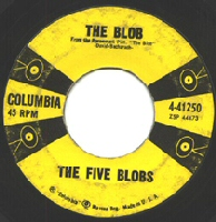 The Five Blobs 45 single