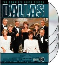 Dallas Season Nine DVD Cover Art