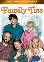 Family Ties Season 4 DVD Cover Art