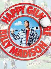 Happy Gilmore Billy Madison Collection DVD cover art
