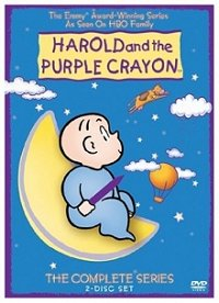 Harold and the Purple Crayon: the Complete Series DVD cover art