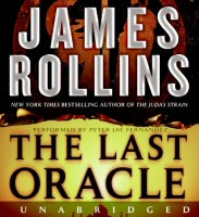 The Last Oracle by James Rollins CD Audiobook Cover Art