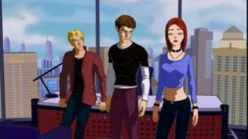 The animated cast of Spider-Man: The New Animated Series