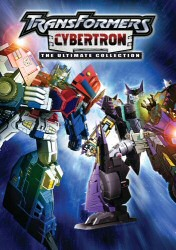 Transformers Cybertron DVD Cover Art