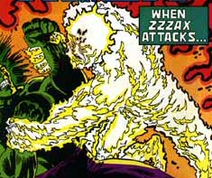 Zzzax Attacks!