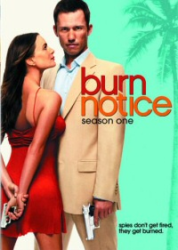 Burn Notice: Season One DVD cover art