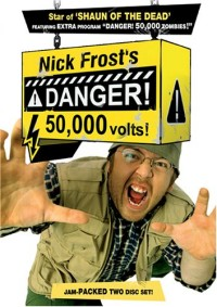 Danger! 50,000 Volts! DVD cover art