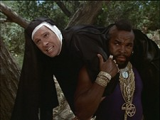 Dwight Schultz and Mr. T from A-Team: Season Two