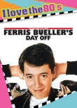 Ferris Bueller's Day Off: I Love the 80s DVD cover art