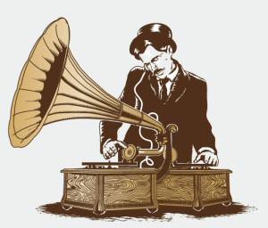Gramophone Turntablist from Threadless