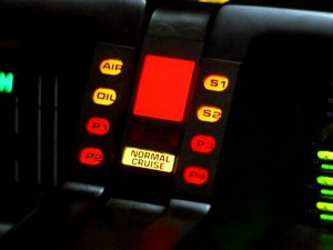KITT interior from Knight Rider