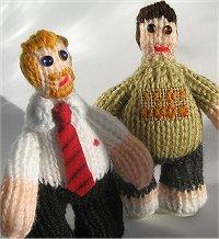 Knitted Shaun of the Dead