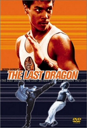 The Last Dragon DVD cover art