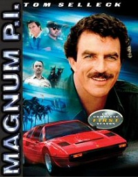 Magnum P.I.: The Complete First Season DVD cover art