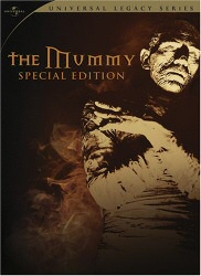 The Mummy (Karloff) Special Edition DVD cover art