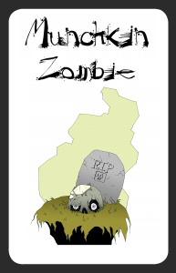 Munchkin Zombie Card
