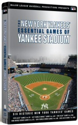 New York Yankees Essential Games of Yankee Stadium DVD cover art