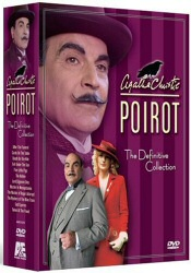 Poirot Definitive Collection DVD cover art