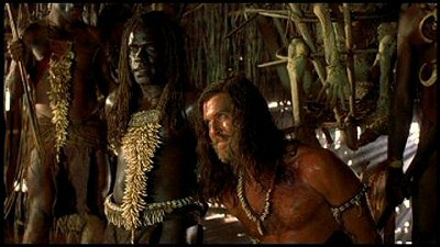 Takaku and Brosnan from Robinson Crusoe