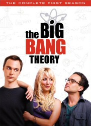 The Big Bang Theory: Complete First Season DVD cover art