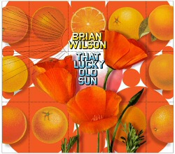 Brian Wilson: That Lucky Old Sun vinyl cover art
