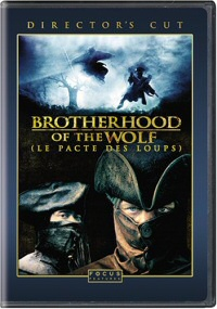 Brotherhood of the Wolf Director's Cut DVD cover art