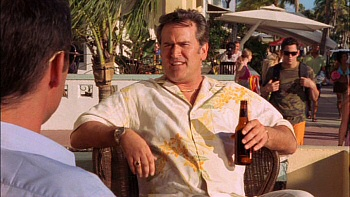 Bruce Campbell from Burn Notice: Season One
