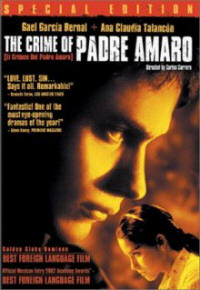 crime of padre amaro dvd cover
