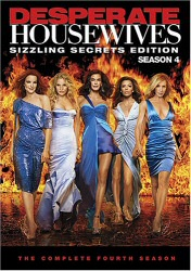 Desperate Housewives: The Complete Fourth Season DVD cover art