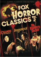 Fox Horror Classics, Vol. 2 DVD cover art
